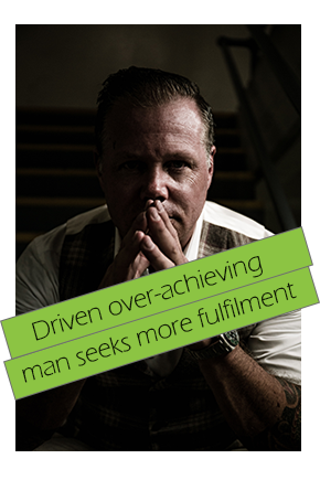 over-achieving man